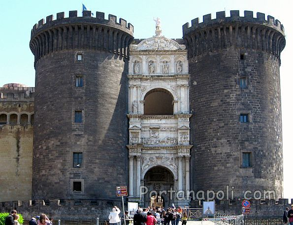 The triumphal Arch (Arco aragonese) of Castel Nuovo
