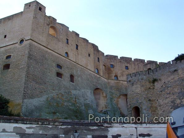 The medieval fortress of Castel Sant'Elmo