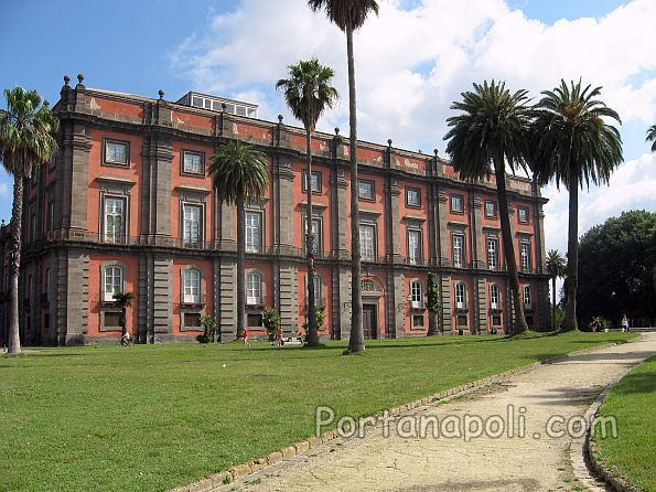 Royal Palace of Capodimonte in Naples